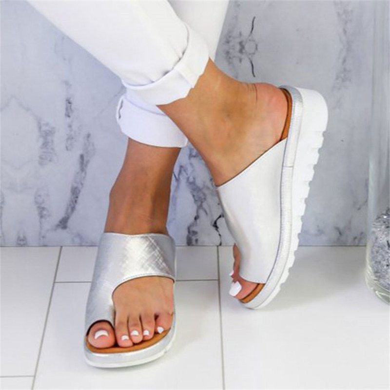 Slides Women Torridity Sandals Slipper Indoor Outdoor -flops Beach Shoes Fashion Female Casual Slipper zapatos mujer 2019 big toe sandal