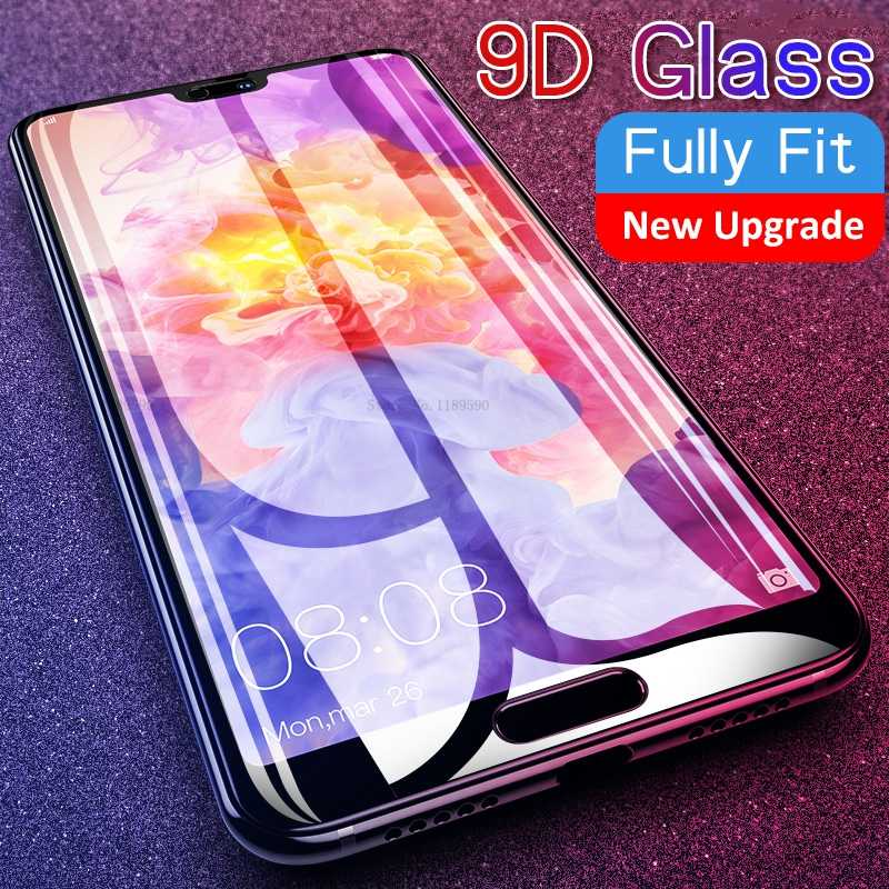 9D Protective Tempered Glass For Huawei Mate 20 P10 P20 P30 Lite Screen Protector Full Curved Edge Glass For Honor 8X 10 9 Lite