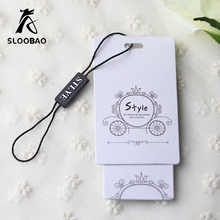 Free shipping 1000pcs/lot/custom printed fashion hangtag/clothing hang tag/customized hang tags for clothing/bags - DISCOUNT ITEM  9% OFF Home & Garden