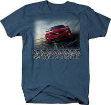 430c46cd9d 2019 Hot sale Fashion American Muscle New Classic Chevy Camaro SS ZL1 Red  Black Tshirt Tee shirt