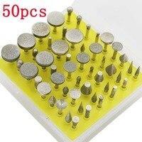 50pcs Mini Abrasive Disc Dremel Tools Accessories Wheels Cutting Disc Buffs Set Diamond Jewelry Gemstone Sanding Buffing Micro