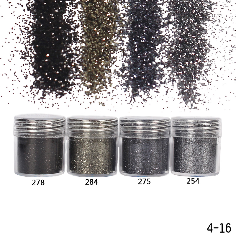 1 Box 10ml Gradient Ultra-thin Nail Glitter Powder Laser Sequins Tips Manicure Nail Art Decoration