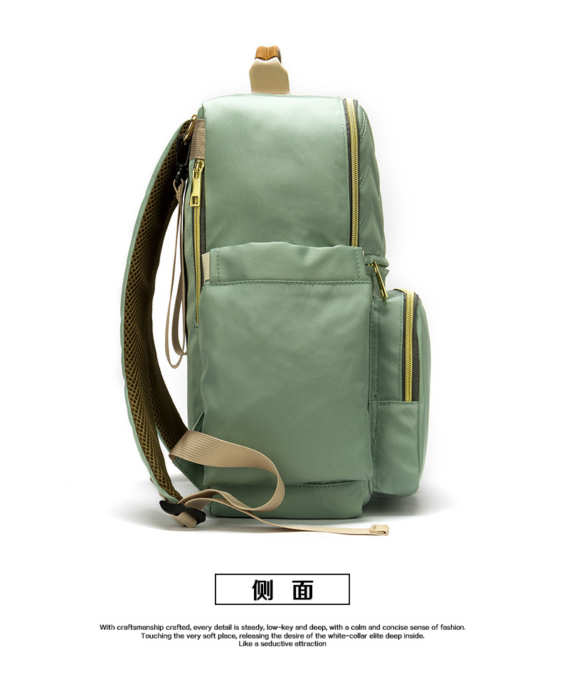 2019 New Baby Diaper Bag Interface Large Capacity Waterproof Nappy Bag Kits Mummy Maternity Travel Backpack Nursing (18)