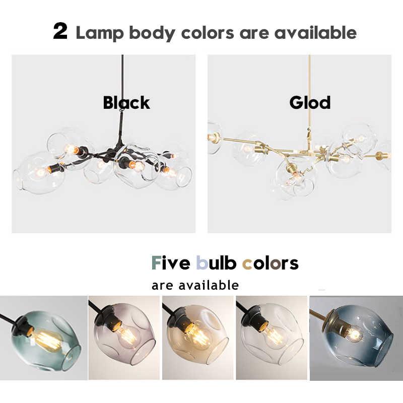 Iskandinav Modern avize aydınlatma Led lamba 110V220V endüstriyel tavan avizeler aydınlatma oturma odası yatak odası aydınlatma armatürleri