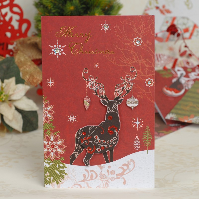 2014 new Christmas cards, high end business Christmas cards gift ...