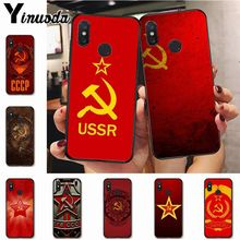Ynuoda Soviet Union USSR Grunge Flag fashion cell phone case  for xiaomi mi 8 se 6 note3 redmi 5 5plus note 5 case coque ussr page 5 page 5