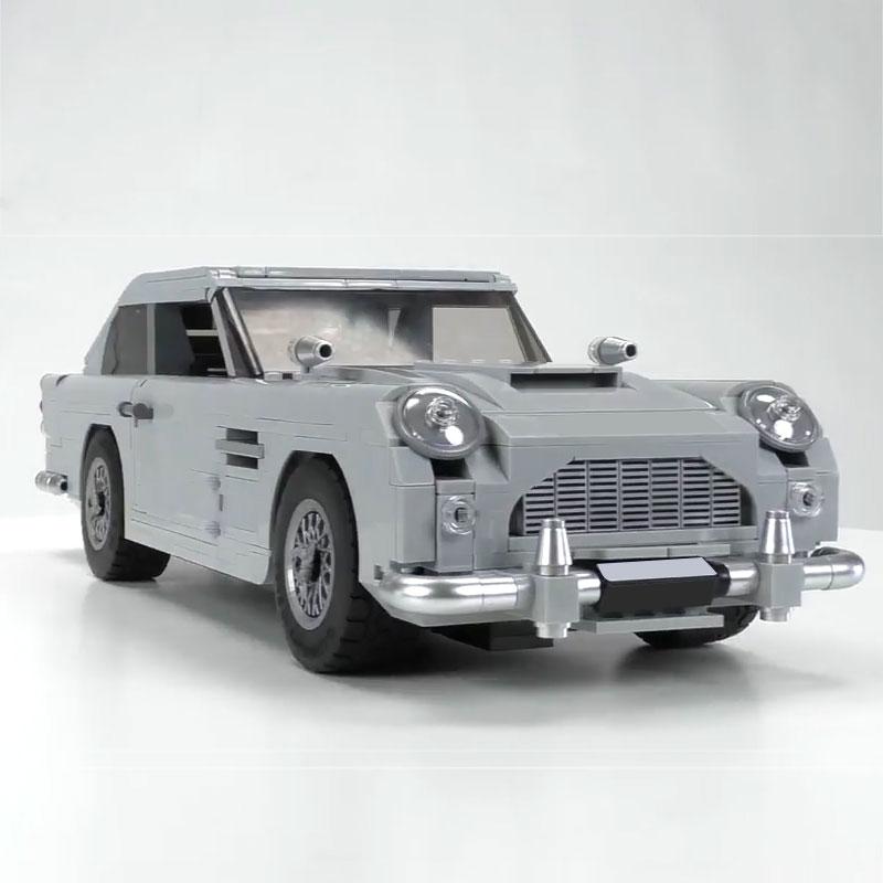1450Pcs James Bond Aston Car Model Martin DB5 007 Model Toys Set Building Blocks Bricks Compatible
