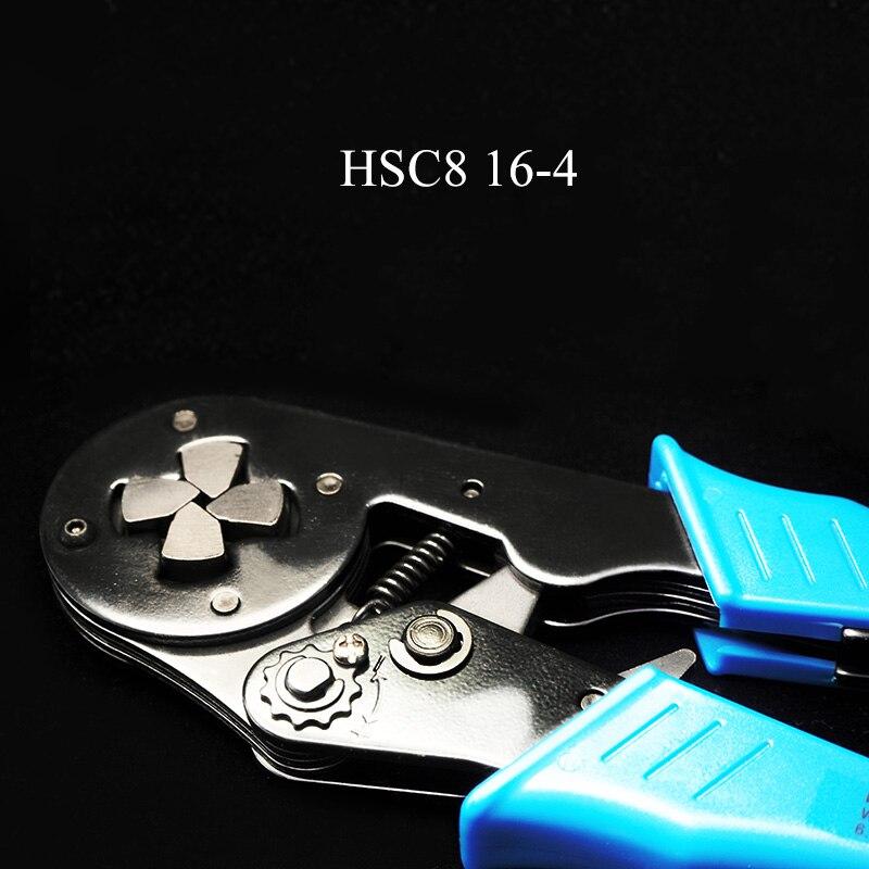 Bootlace Crimper 4-16mm2 trinquete puntera para herramienta de engarce de final plegadores