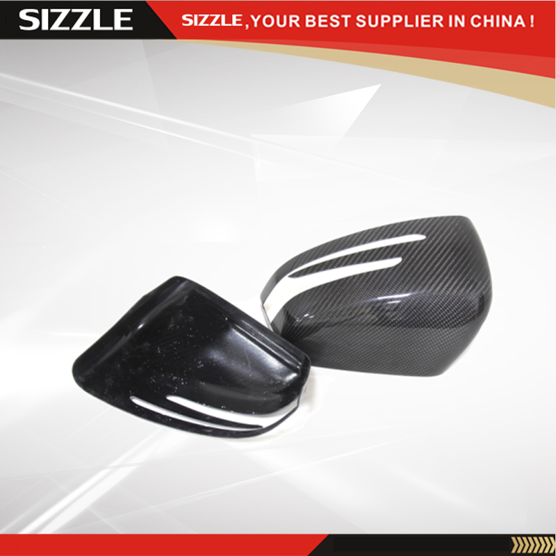Add On Carbon Fiber Side Mirror Cover For Mercedes G Class Amg G55 G63 W463 GL