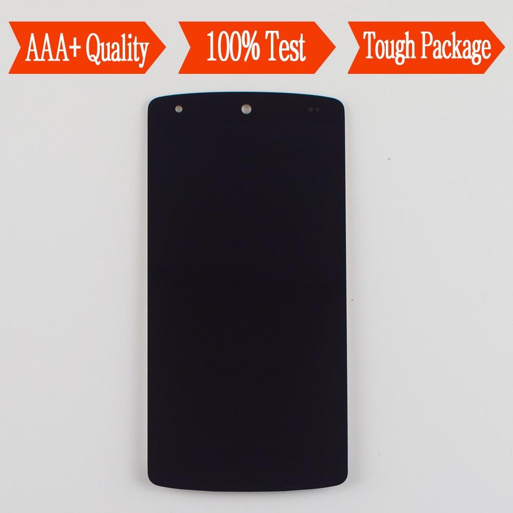 Per LG Google Nexus 5 D820 D821 Modulo Display LCD + Touch Screen Digitizer Montaggio del Sensore