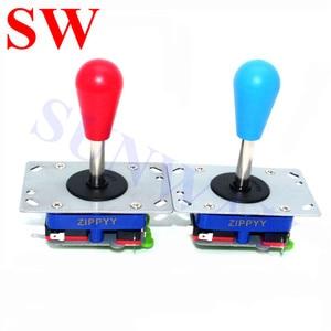 Image 4 - Zippy Joystick DIY zestawy zręcznościowe do Joystick PC z czerwonym ballopem Zippy Joystick + 30mm Sanwa przyciski + LED USB Controll Board