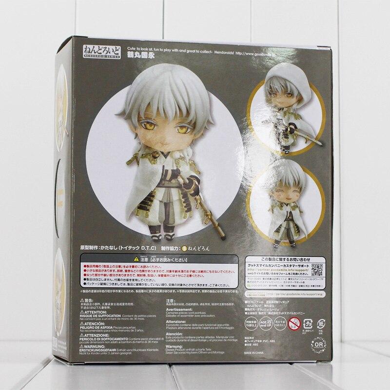 10cm Tsurumaru Kuninaga Game Touken Ranbu Online Figure Tsurumaru Kuninaga 540# Nendoroid Mini Action Figure Toy