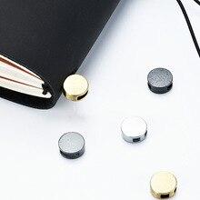 Металлическая кнопка для путешествий, аксессуары для ноутбуков, аксессуары, сделай сам, бронзовая, золотая, цветная Пряжка, галстук, эластичная лента, веревка
