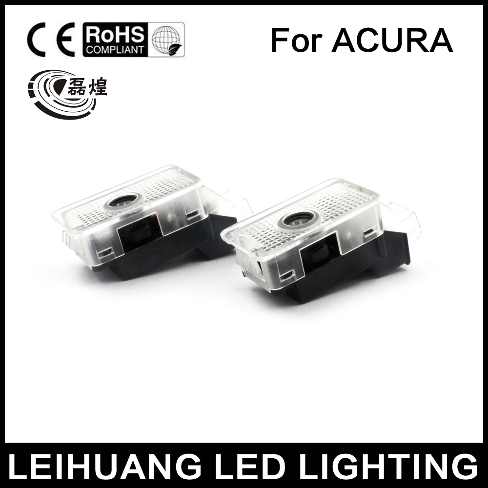 2xCar Door Logo lights Courtesy Shadow Laser for Honda Acura MDX/RLX/TL/TLX/ZDX лампа для чтения iculed 2 5630 5smd 12v acura mdx rdx rlx tl tsx