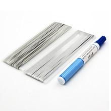 5,0*0,2 мм 1,80x0,16 мм солнечная ячейка tab шина бар провод для PV Ленты табуляции провода для DIY подключения полосы панели солнечных батарей флюс ручка 951