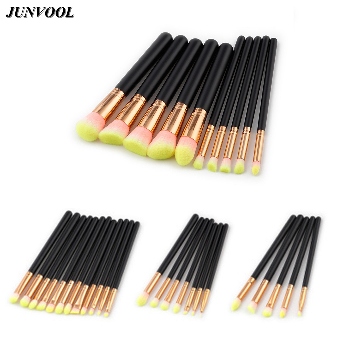 Pink Rose Gold Make Up Brush Professional Soft Cosmetic Eye Eyebrow Shadow Makeup Brushes Set Tool Kit Pinceles De Maquillaje shoushoulang w211 professional makeup brush squirrel hair eye shadow brush ebony handle cosmetic tool eye shader make up brush