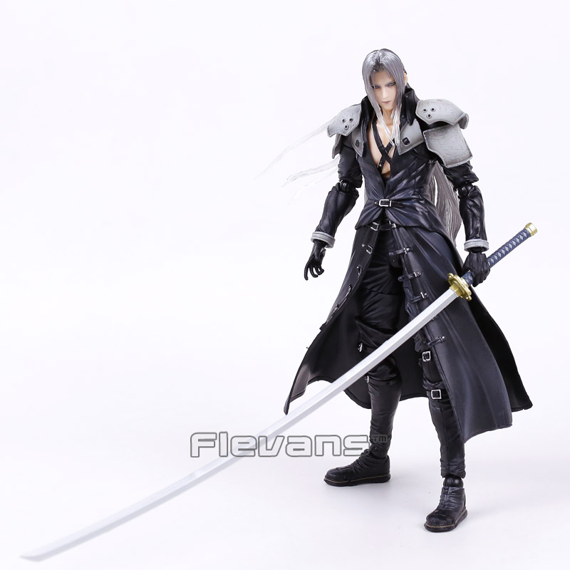 Paly Arts Kai Final Fantasy VII 7 Sephiroth PVC Action Figure Collectible  Model Toy 27cm In Action U0026 Toy Figures From Toys U0026 Hobbies On  Aliexpress.com ...