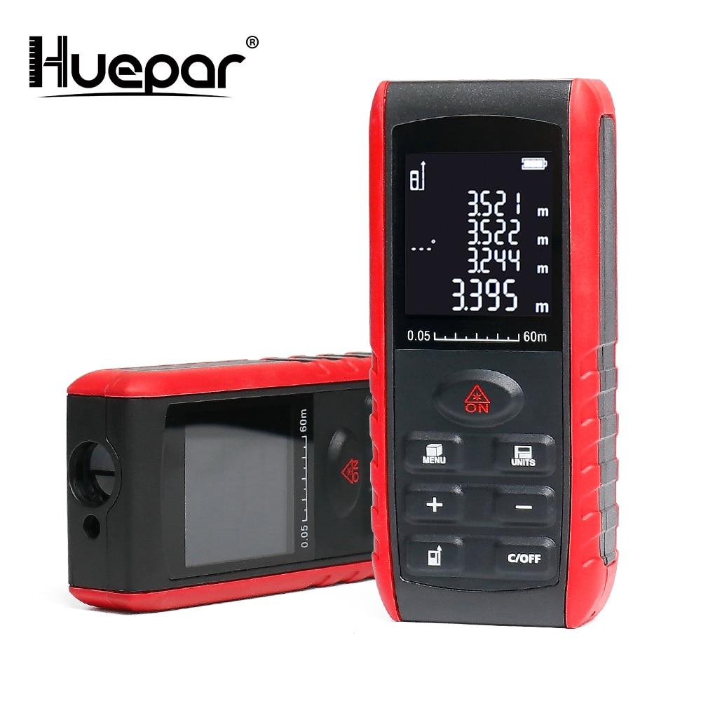 Huepar Laser Rangefinders Medidor Trena Handheld Laser Distance Meter 40M 60M 80M 100M Range Finder Diastimeter