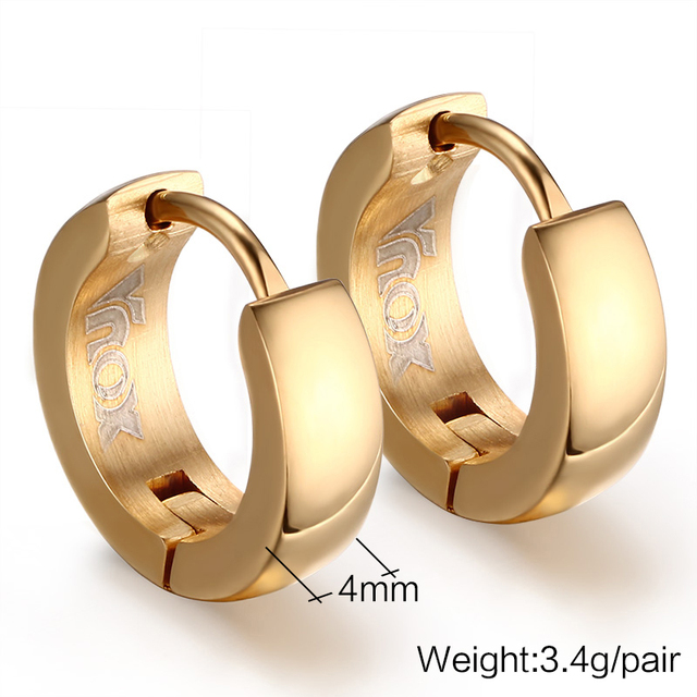 Stainless Steel Earrings for Men