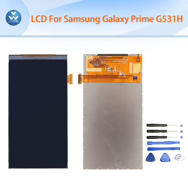 Lcd para samsung galaxy core prime g531 g531h g531f pantalla lcd pantalla de visualización de 5 pulgadas negro herramientas gratuitas