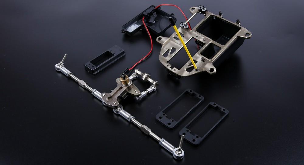 Rovan Baja CNC Alloy Sym-Steer Steering Turnbuckle Kit