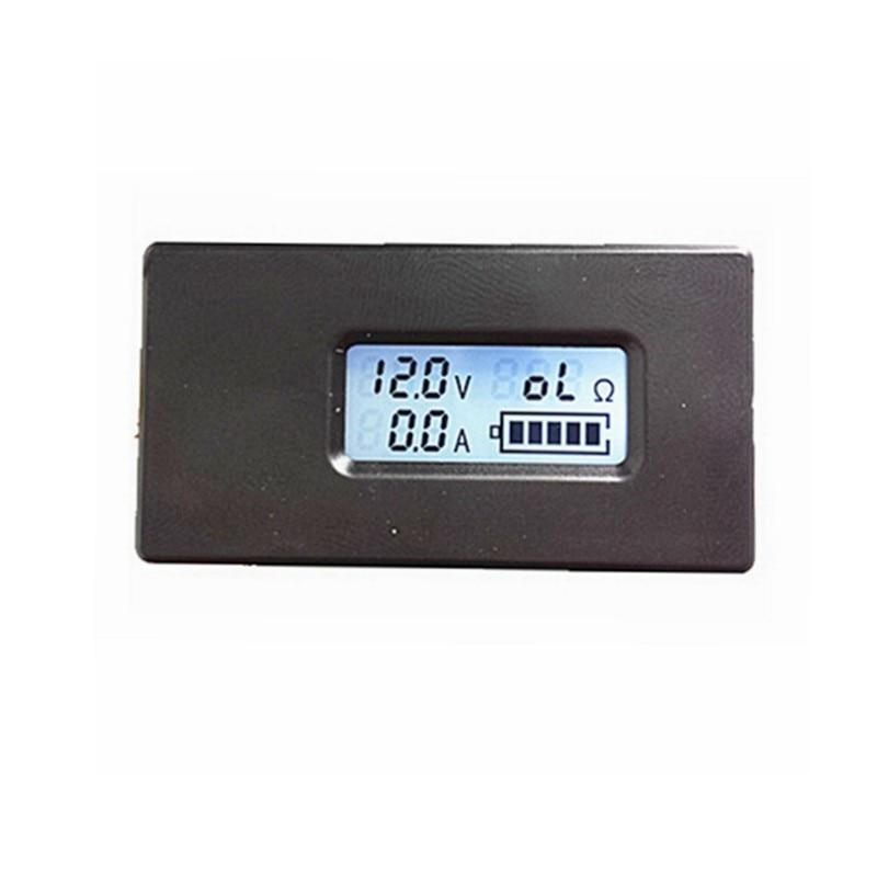 Register shipping ! 1pc Digital Battery Charger tester DC 2.8-26V Volt voltmeter 0.1-10A amp ammeter battery Resistence gauge