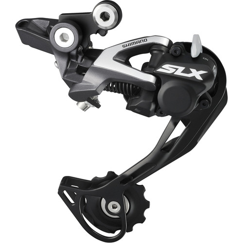 New Shimano SLX RD-M675 SGS Rear Derailleur Shadow Plus Black 10-sp Long Cage цена