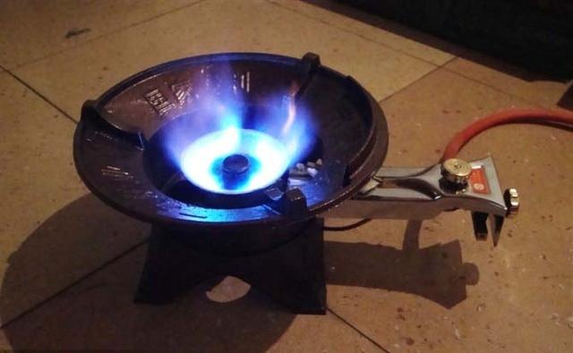 Efisien Tinggi Komersial Yang Kuat Dapur Api Kompor Gas Tabletop Memasak Burner Hotel Restoran Digunakan