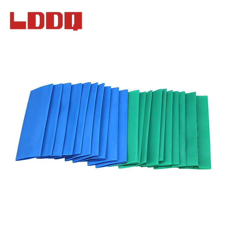 Lddq 530 個熱収縮チューブ収縮比 2:1 熱コントラスリーブケーブル termoretractil pvc チューブチューブラップワイヤーケーブル