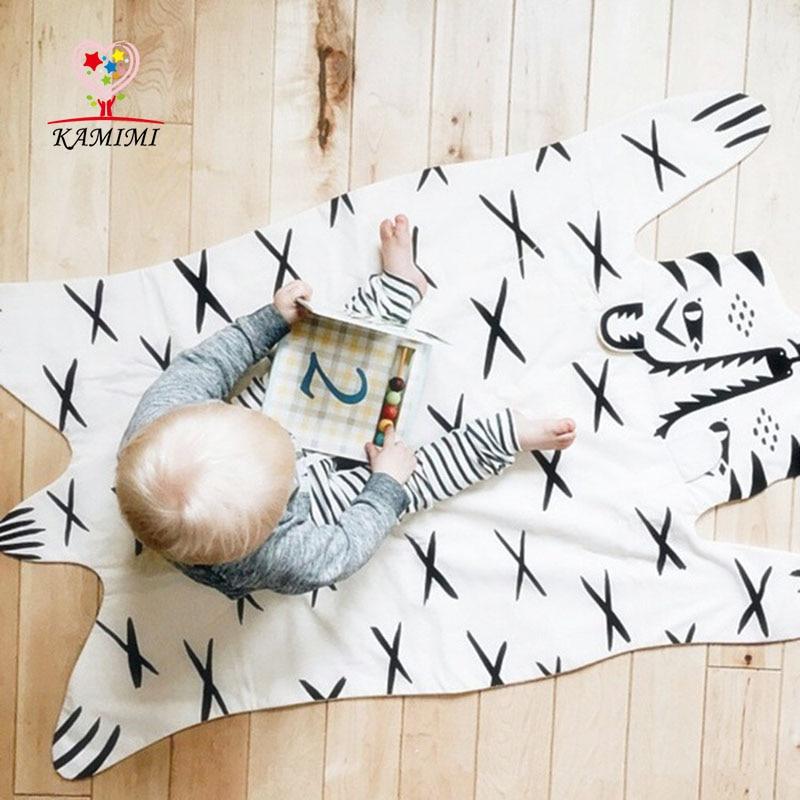 KAMIMI 2017 New Baby Flannel Baby Blanket Newborn Cartoon Tiger Printed Baby Blankets Thick Warm Kids Fleece Blanket I018