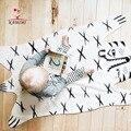 KAMIMI 2017 Nuevo Bebé de Franela Manta de Bebé Recién Nacido de Dibujos Animados Tigre Impreso Mantas de Bebé Caliente de Espesor Niños Fleece Blanket I018