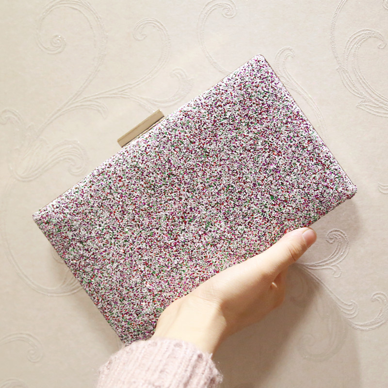 ETAILL Brand New Women Glitter Sequins Handbag Paillette Evening Party  Envelope Clutch Bag Spangle Wallet Purse Shoulder Bag-in Top-Handle Bags  from Luggage ... 5f60a0b008c9