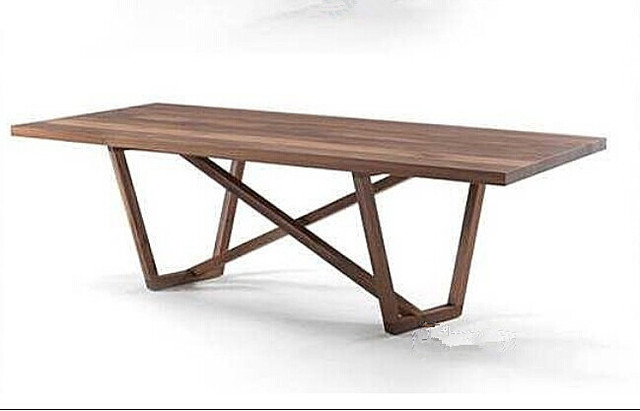 American Country Style Dining Table Minimalist Furniture Loft