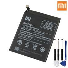Xiao Mi Original BM37 Battery For Xiaomi 5s plus BM37 Genuine Replacement Phone Battery 3800mAh With Free Tools qrxpower original bm37 replacement battery for xiaomi mi 5s plus real capacity 3800mah li ion phone battery tools sticker