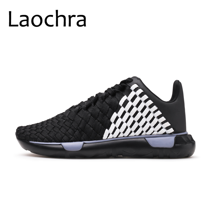 LAOCHRA Mens Woven Shoes Casual Footwear 2018 Spring Summer Harajuku - Men's Shoes - Photo 2