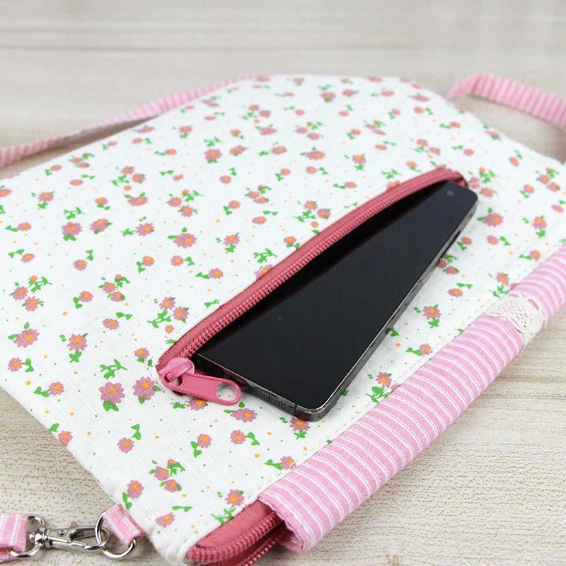 Women Mini Shoulder Bag Crossbody Flower Lace Phone Money Sweet Bags BS88 5