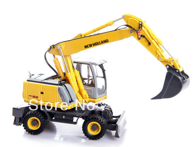 ROS New Holland MH5.6 Wheeled Excavators Die Cast 1:50 scale Model toy new holland ag europe net 7 2015