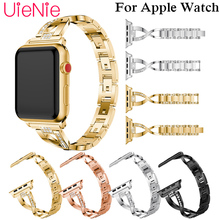 For Apple Watch 40mm 44mm 38mm 42mm smart watch crystal trend strap for Apple Watch series 4 3 2 1 iWatch bracelet band 42mm 38mm for apple watch s3 series 3