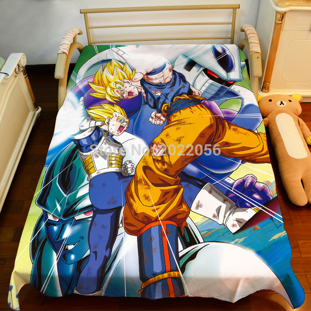 Dragonball Z Bed Sheet 150*200cm