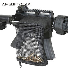 Tactical Rifle Ammo Brass Shell Catcher Military Gear Holder Mesh Trap Nylon Mes