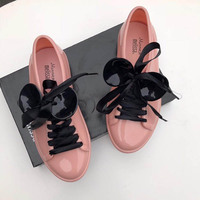 2019 New Melissa Women Mickey Jelly Shoes Women Jelly Sandals ladies Sandals Beach Waterproof Shoes Melissa Sandals Female Shoes