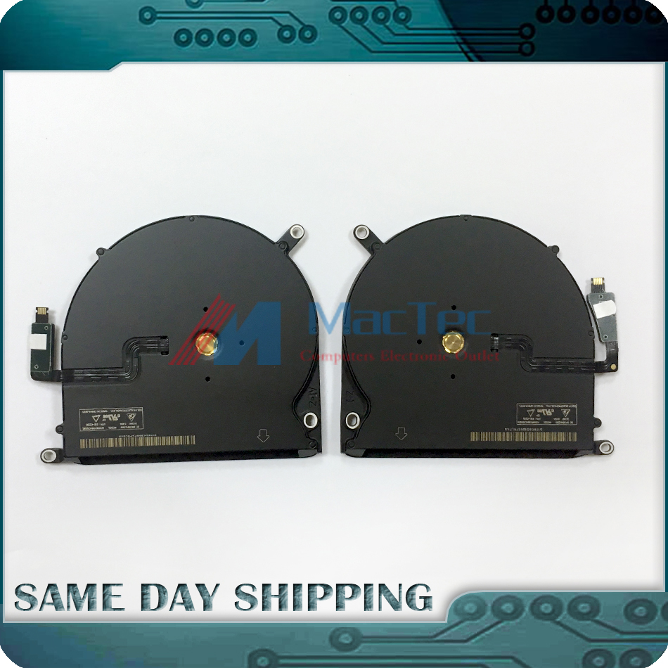 NEW GENUINE 923-0668 923-0669 for Apple Macbook Pro Retina 15.4 A1398 Left and Right Cooling Cooler Fan Set 2013-2014 Year