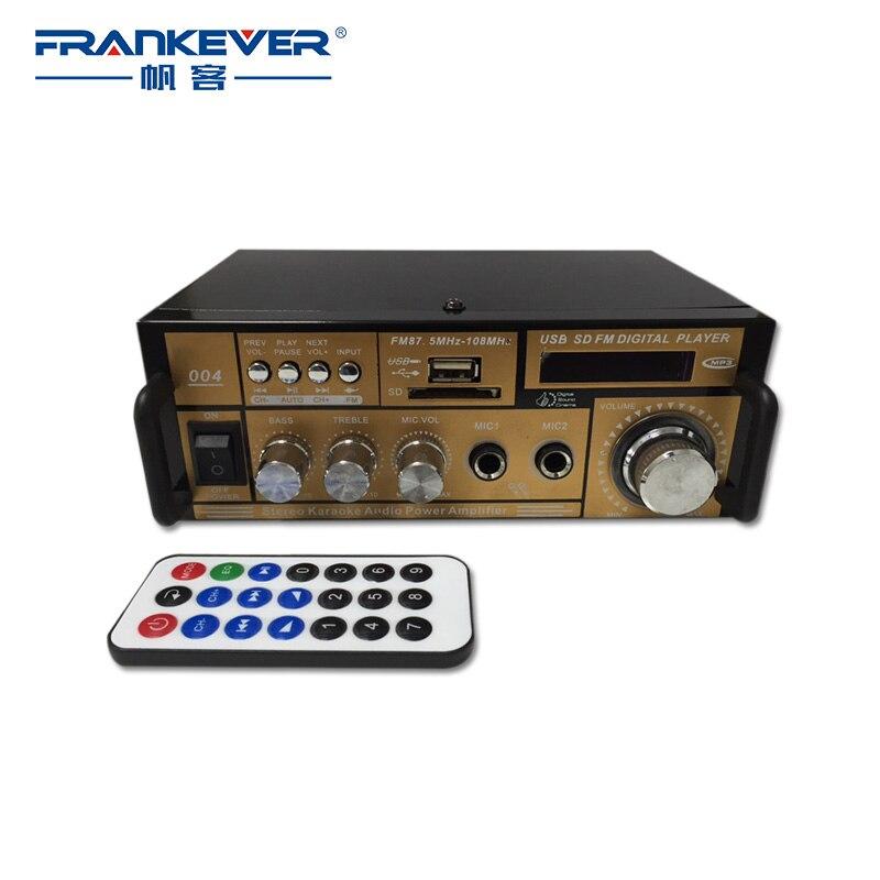 Frankever HiFi Amplificator digital audio auto Acasă Amplificator - Audio și video acasă