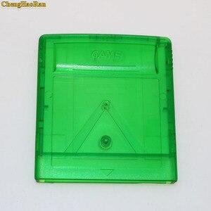 Image 5 - ChengHaoRan carcasa para Cartucho de juego GBA SP, carcasa para GB GBC, gris, verde, 1 unidad