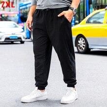 Casual Pants XL Men's Cotton New Autumn Plus Fertilizer Big-Yards Wide-Prednisone