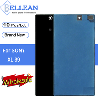 Dinamico XL39H Back Cover For Sony Xperia Z Ultra Back Glass Door Rear Housing Cover No NFC Antenna C6802 C6806 C6833 Case 10pcs