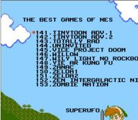 THE 143 In 1 BEST VIDEO GAMES OF ALL TIME! Classic Gold NES Cartridge 5