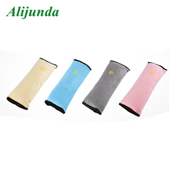 Car shape car children colorful car seat belt shoulder protection pad seat belt cover belt pillow image