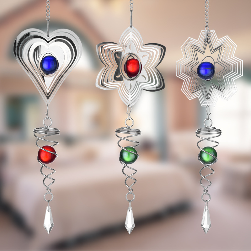 3D Rotating Wind Bell 1