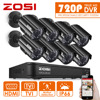 ZOSI HD 8CH CCTV System HDMI 960H DVR 8PCS 1000TVL IR Outdoor Video Surveillance Security Camera